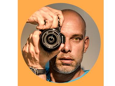 Tim Siegert mit Kamera